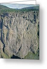 210363-north Chasm View Wall  Greeting Card