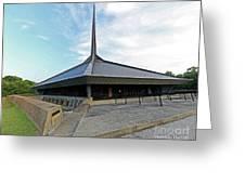 North Christian Church, Columbus, Indiana Greeting Card
