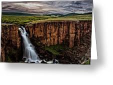 North Clear Creek Falls Greeting Card