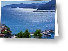 North Coast Of Crete In Bali Greeting Card