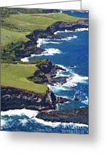North Coast Of Maui Greeting Card