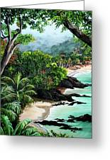 North Coast Tobago Greeting Card