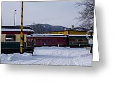 North Conway Nh Scenic Railroad Greeting Card