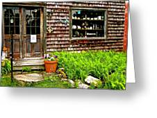 North Country Antiques Greeting Card