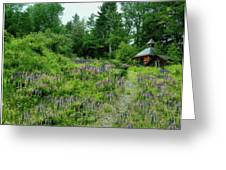 North Country Nod To Monet Greeting Card