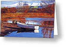 North England Lake Greeting Card
