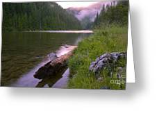 North Fork Of The Clearwater Greeting Card by Idaho Scenic Images Linda Lantzy