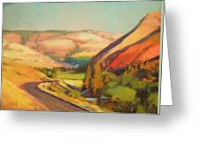 North Fork Touchet Greeting Card