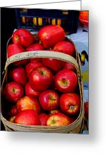 North Ga. Apples Greeting Card