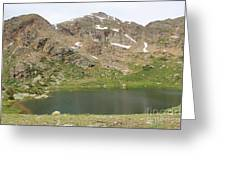North Halfmoon Lake 2 Greeting Card