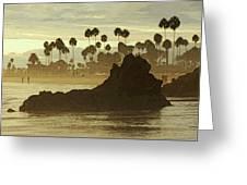 North Laguna Beach Greeting Card