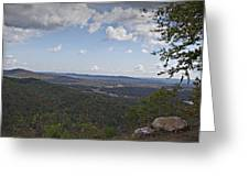 North Mountain Overlook  Greeting Card