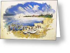 North Of France 02 - The Coast Greeting Card