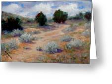 North Of Santa Fe  Greeting Card