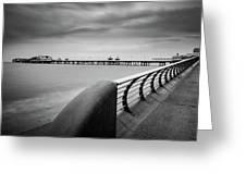 North Pier Blackpool Greeting Card