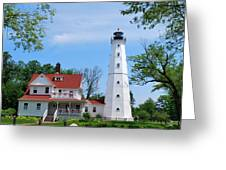 North Point Lighthouse Greeting Card