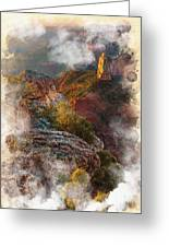 North Rim Of The Grand Canyon Greeting Card