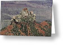 North Rim Rock Greeting Card