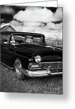 North Rustico Vintage Car Prince Edward Island Greeting Card