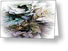 North Shore Abstract Wild Flowers Greeting Card