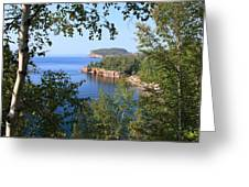 North Shore Lake Superior Greeting Card