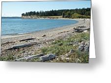 North Shore Of Penn Cove Greeting Card