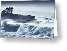 North Shore Waimea Bay Greeting Card
