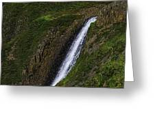 North Table Mountain Falls Greeting Card