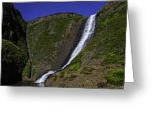 North Table Mountain Spring Falls Greeting Card