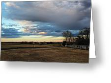 North Texas Landscape Greeting Card