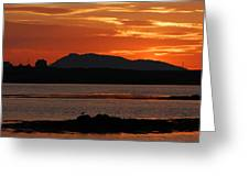 North Uist At Sunrise Greeting Card