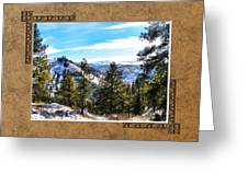 North View Greeting Card