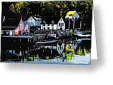 North West Cove Ns. Greeting Card