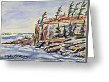 North Wind Greeting Card