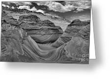 Northern Arizona Desert Swirls Greeting Card