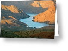 Northern Arizona Lake Mead Greeting Card