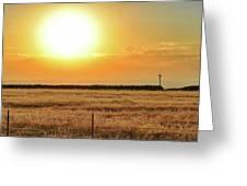 Northern California Sunrise Greeting Card