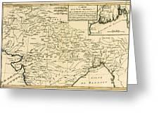 Northern India Greeting Card