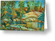 Northern Landscape Greeting Card