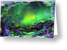 Northern Lights 2 Greeting Card