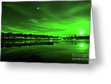 Northern Lights 3 Greeting Card