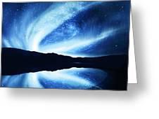 Northern Lights Greeting Card