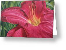 Northern Lily Greeting Card