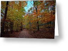 Northern Loop Trail Greeting Card