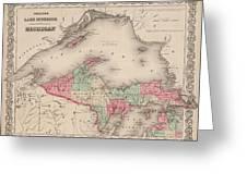 Northern Michigan And Lake Superior Greeting Card