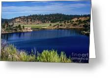 Northern New Mexico Lake Greeting Card