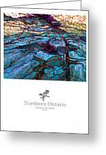 Northern Ontario Poster Series Greeting Card