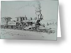 Northern Pacific Centennial Gold Creek Montana Greeting Card