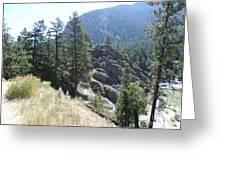 Northern Rockies Missoula  Montana  Greeting Card