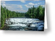 Northern Waterfall Greeting Card